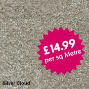 Victoria Carpets - Freedom - Silver Cloud