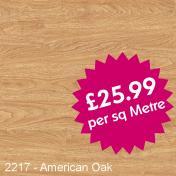 Camaro Wood PUR 2217 - American Oak