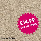 Victoria Carpets - Freedom - Creme Brulee