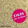 Victoria Carpets - Bourton Twist - Charcoal Grey