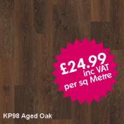 Karndean KP98 Aged Oak