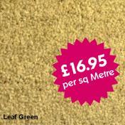 Victoria Carpets - Bourton Twist - Leaf Green
