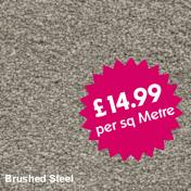 Victoria Carpets - Freedom - Brushed Steel