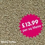 Lifestyle Carpets - Canterbury - Sticky Toffee